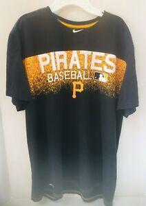 new style 96b2a 6f60b Image is loading Pittsburgh-Pirates-MLB-Licensed-High-Quality-Nike-Tee-