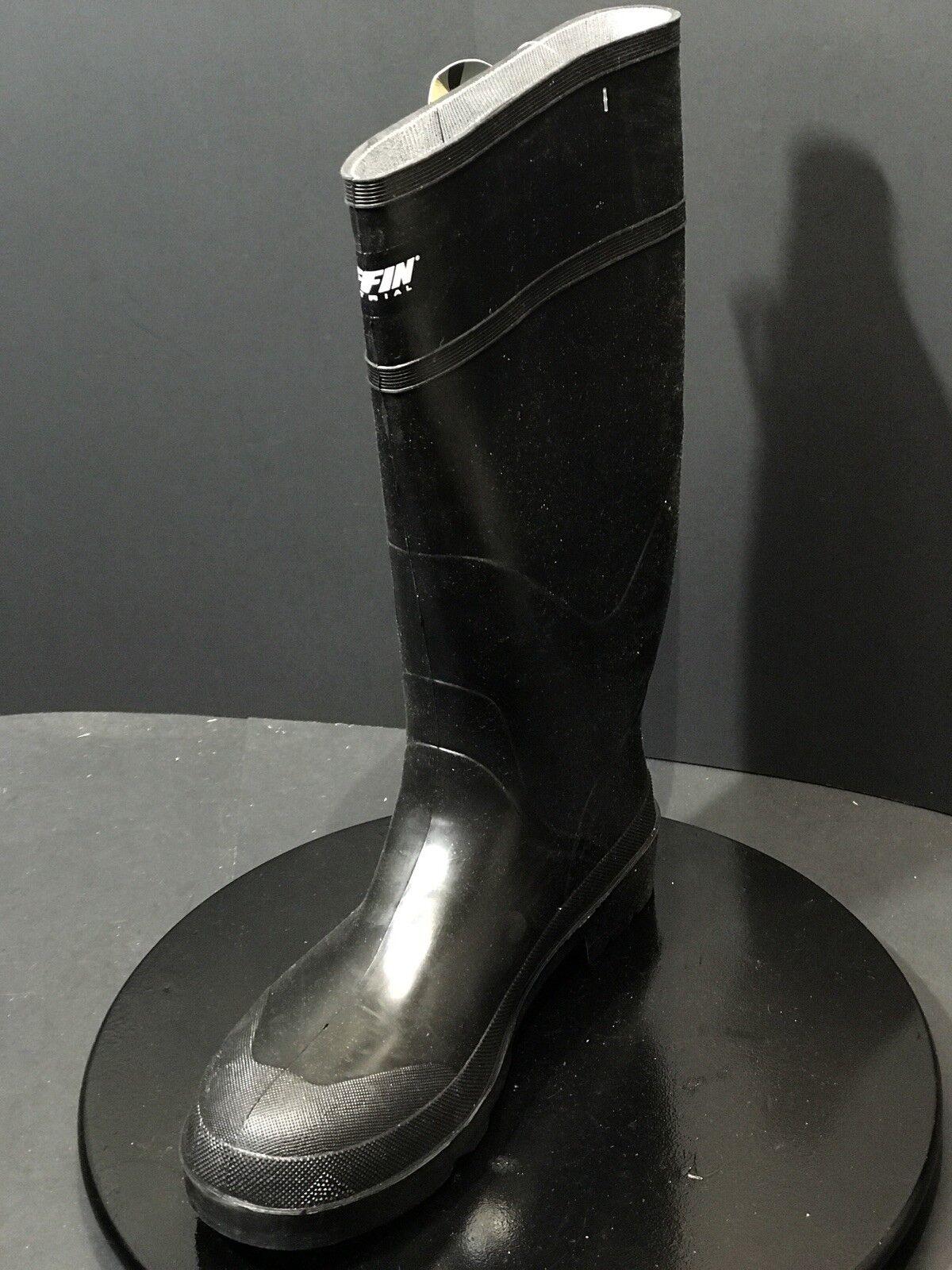 Nuevo Baffin Express 15  seguridad del dedo del pie y placa de goma negro botas de EE. UU. hombres