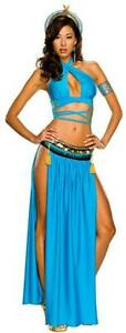 Secret-Wishes-Playboy-Sexy-Cleopatra-Costume-Blue-Women-039-s-X-Small