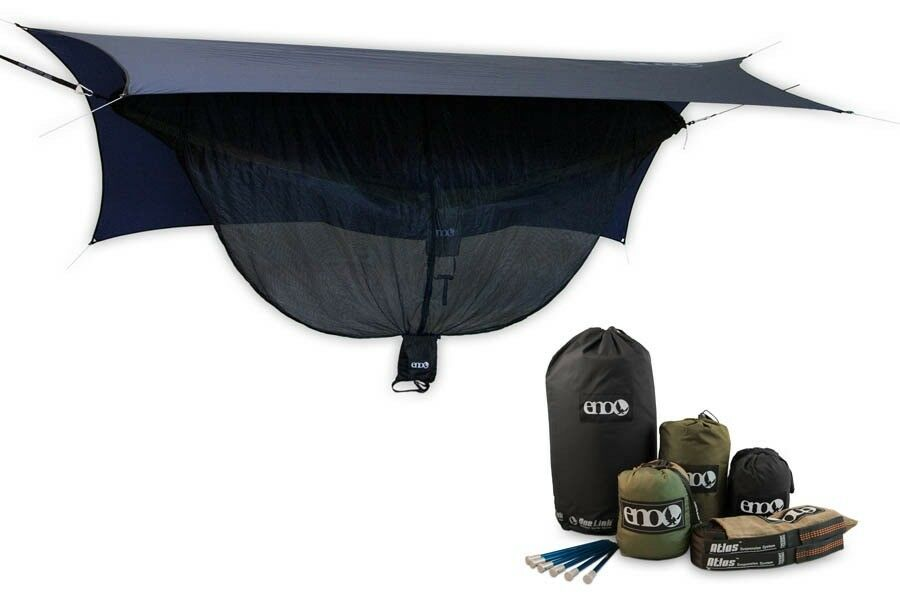 Eagles Nest Outfitters Eno Onelink Double Double Double Hamac + Profly + Aigle + Atlas Sangle d98ee7