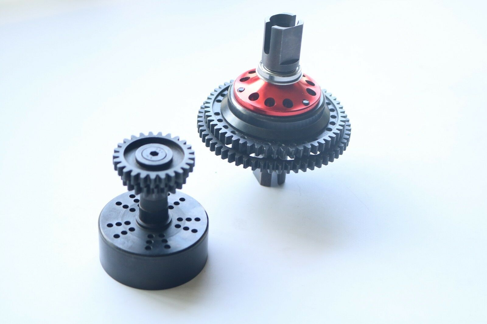 FID Upgraded 2 Speed Two Speed Transmission Set for Losi 5ive T Rovan LT KM X2
