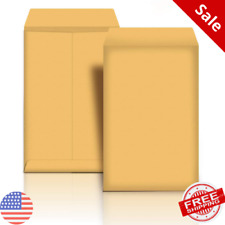 Manilla Envelope 6x9 Manila Self Stick Mailing Safe Security Business No1 100pk