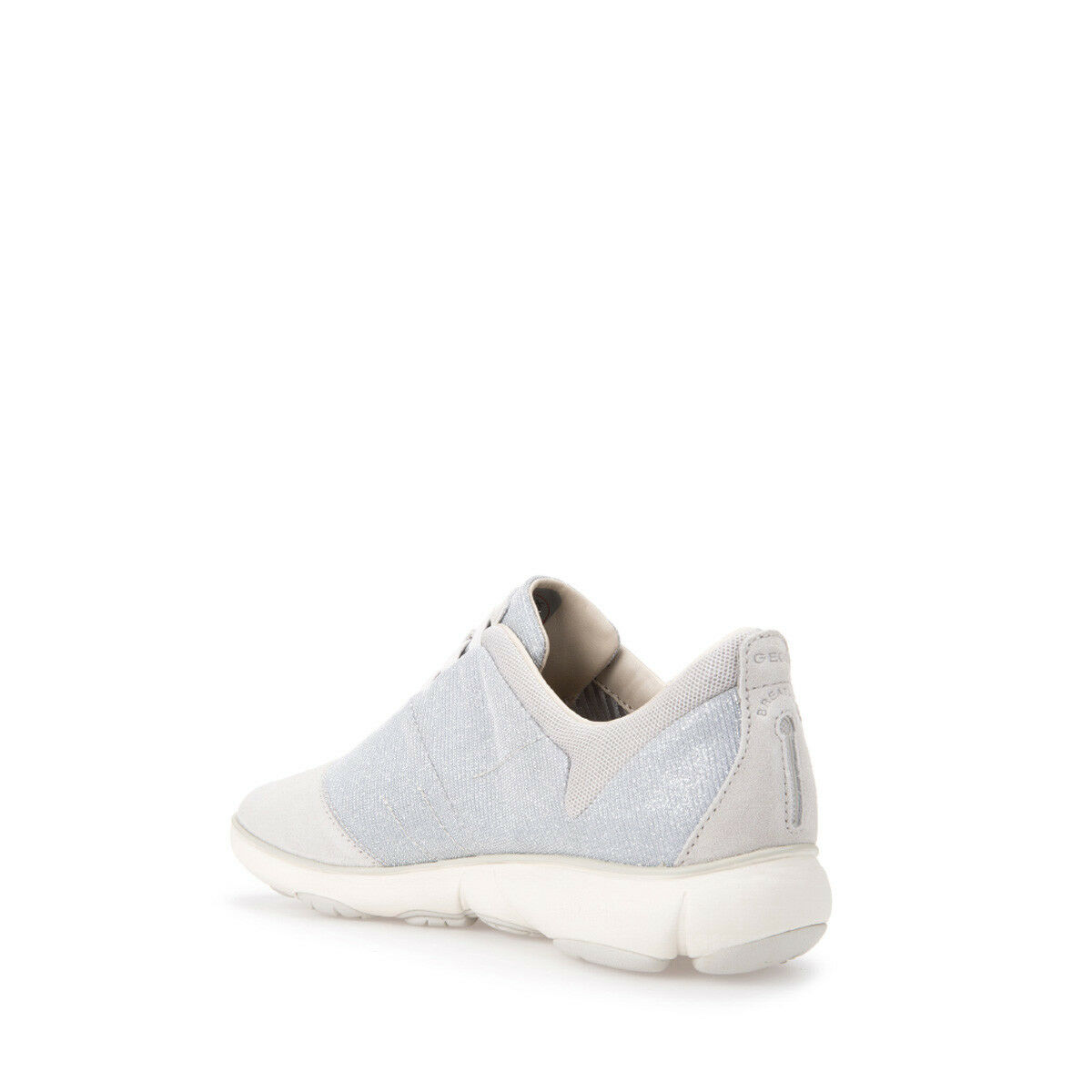 GEOX leggere Scarpe donna NEBULA D641EG scarpe da ginnastica slip-on leggere GEOX in tela e camoscio bfaa4a