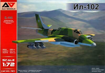 1//72 IL-102 Experimental ground-attack aircraft NEW A/&A!!
