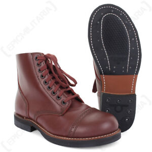 f12cd23691c4f American Service Shoes - Leather Low Boot US Army WW2 Repro 1939 ...