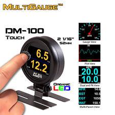 NEW PLX DM-100 Touch Universal 52 mm OLED Multi Gauge OBD II