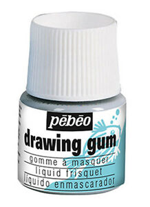 Pebeo Drawing Gum - Masking Fluid for Watercolour Painting 45ml