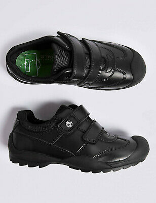 SPENCER KIDS LEATHER SCHOOL SHOES