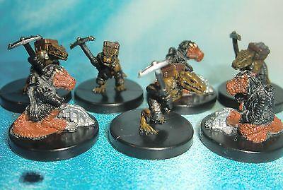 Dungeons & Dragons Miniatures Lot  Kobold Trapmaker Kobold Miner !!  s104