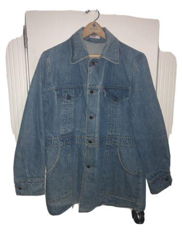 Vintage Levi's Work Chore Jacket Orange Tab Men's