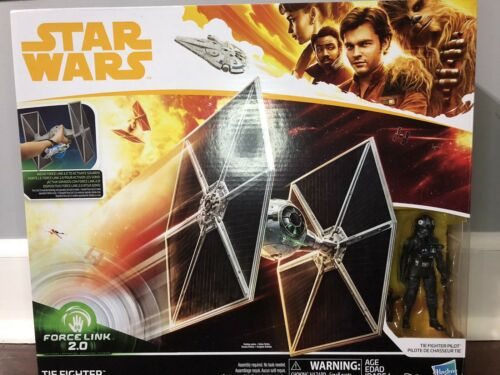 Disney Star Wars Force Link 2.0 Tie Fighter avec TIE Fighter Pilot NEUF