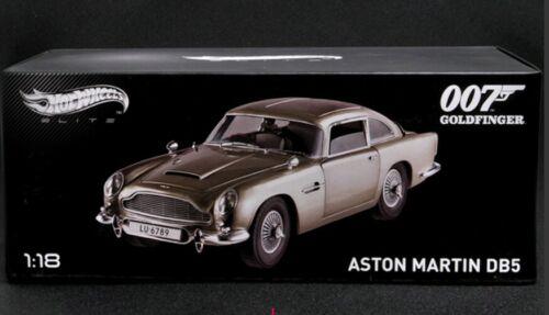 ##########Hotwheels elite 1:18 Aston Martin DB5 007 JAMES BOND##########
