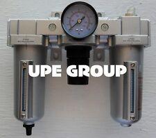 34 Combo Particulate Filter Moisture Trap Lubricator Regulator Amp Auto Drain
