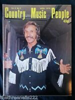COUNTRY MUSIC PEOPLE - APRIL 1978 MARTY ROBBINS