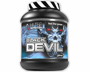 nowy autentyczny przystępna cena nowy koncept Details about BLACK DEVIL 240 capsules Hi-Tec Anabol Hormon, Testosterone  TRIBULUS + ZMA + DAA