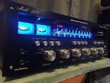 Marantz 2270 BlackFace Vintage Stereo Receiver Full Restoration Fully Recapped