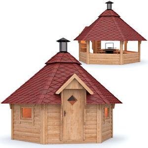 Isidor grillkota pavillon gartenhaus grillh tte kota - Gartenhaus mit feuerstelle ...