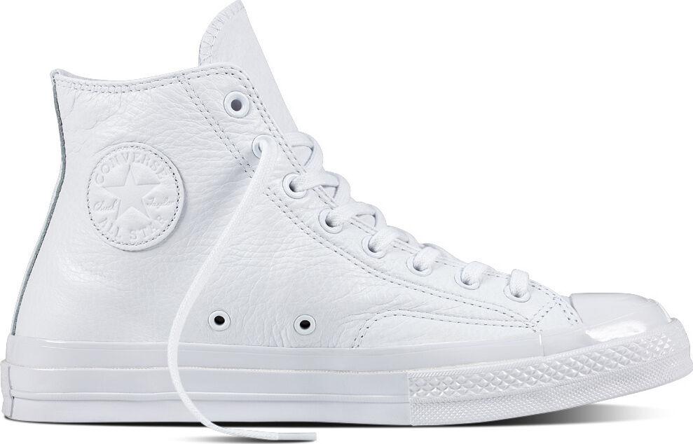 Converse All Star 70 Hi Mono Pelle in White/White/White (155453C) Free Ship