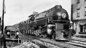 Details about Pennsylvania Railroad Photo PRR 5338 4-6-2 K-4 Steam  Locomotive Art Deco Train