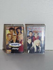 Steps Cassette Single Bundle x3 Tragedy Stomp 90s Pop Music
