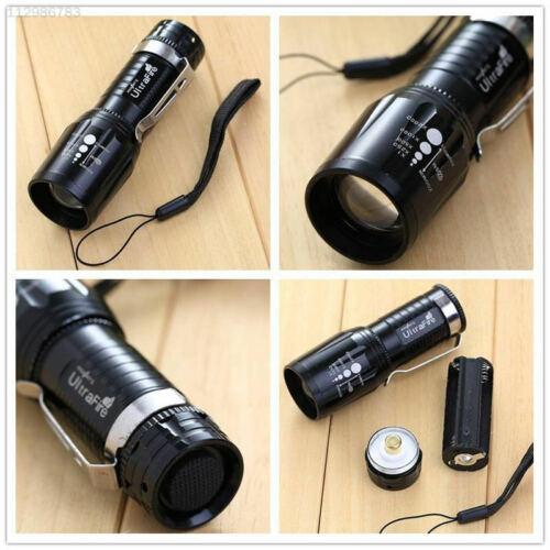 186A XM-L  Taschenlampe Für  T6  Light  CREE Wandern Einstellbar Lampe Schwarz