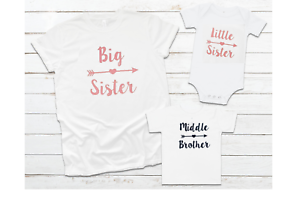 Different sizes available Middle brother /& Little Sister set Big Sister