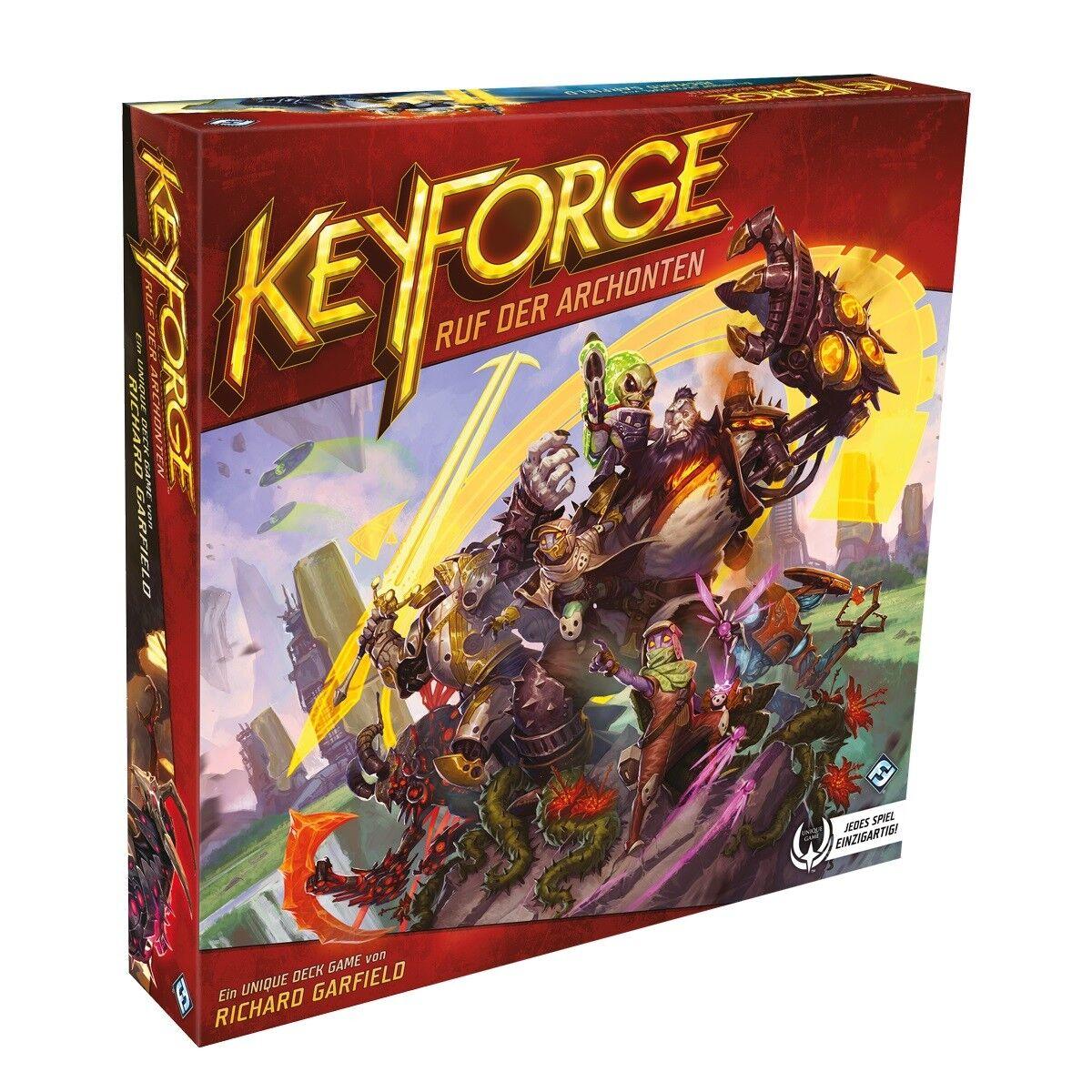 Keyforge  Ruf Ruf Ruf der Archonten - Starter-Set 209bf7