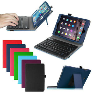 For-iPad-mini-4-3-2-1-Folio-PU-Case-Stand-Cover-Detachable-Bluetooth-Keyboard