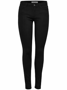 c33fb36cfb5 Details about Jdy by only Women's Trousers Jeans Leggings Jdynew Five Pant  Dnm Black
