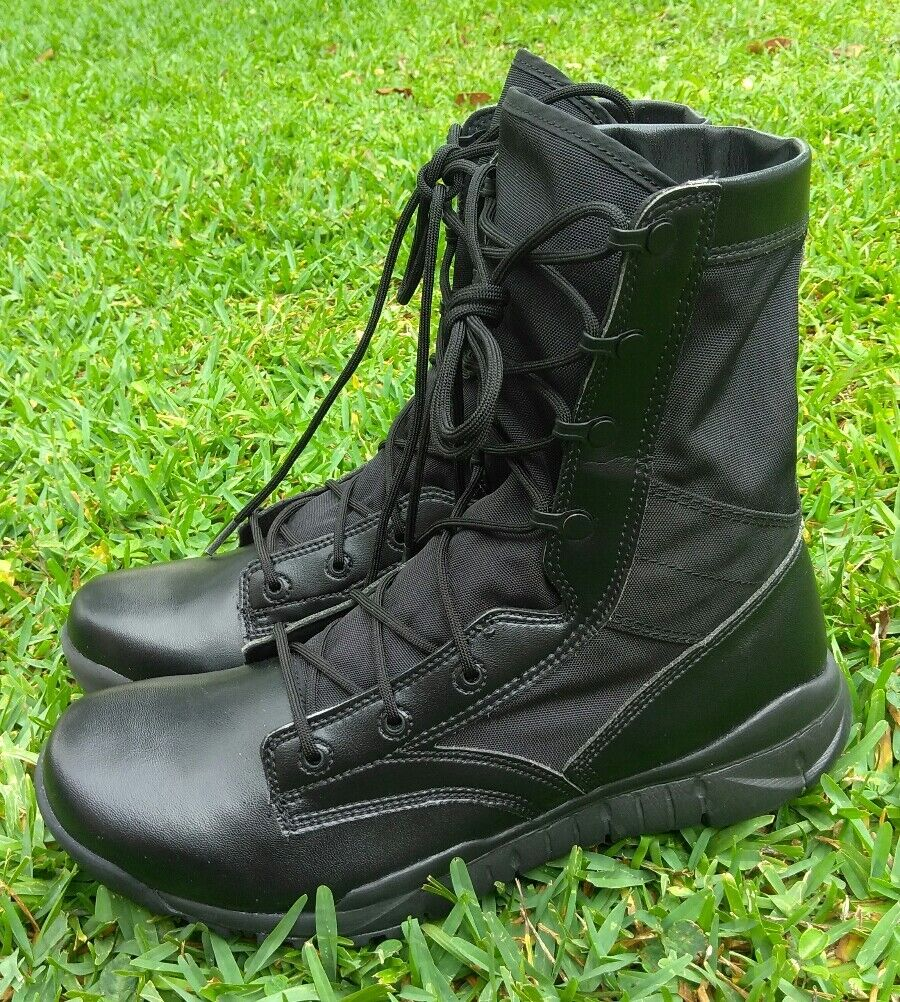 Size 11 MEN'S Nike SFB Special Field Field Field army Military Boots Black Police 329798 002 44bc0e