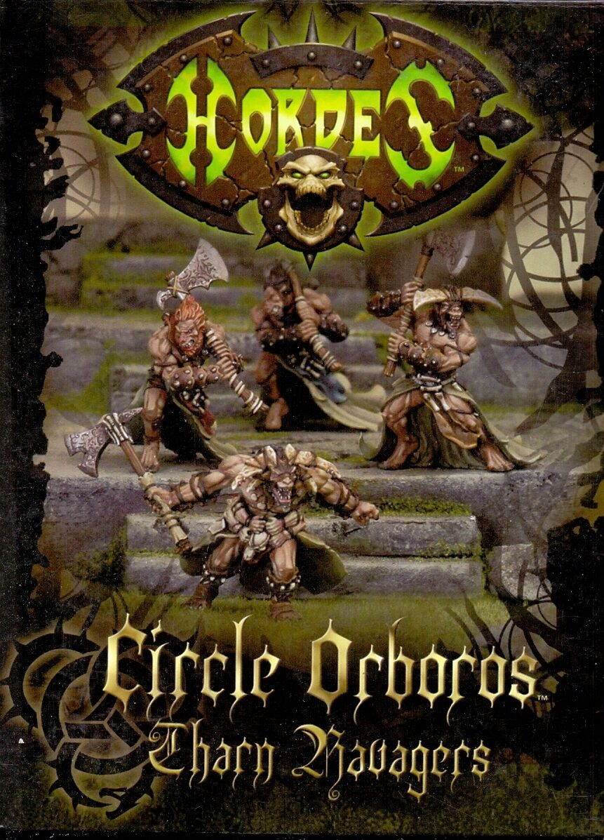 PRIVATEER PRESS HORDES BOITE PIP 72011 CIRCLE ORBgoldS - THARN RAVAGER UNIT BOX