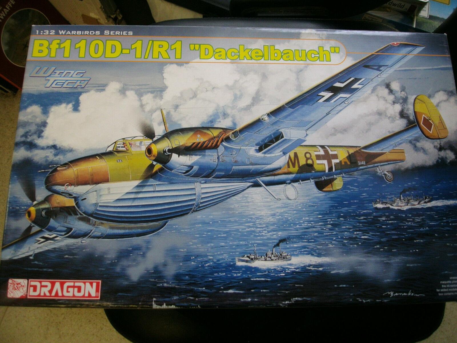Dragon WingTech 2er Set  Messerschmitt BF 110 D-1 R1 & D-3 ( 3206 & 3207 )  OVP    Hohe Qualität und günstig