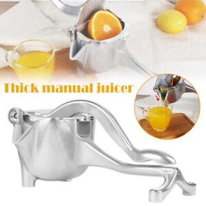 Aluminum Alloy Manual Juicer Squeezer Citrus Press Maker Extractor Machine