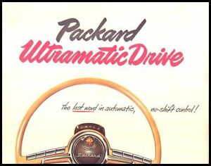 1950 Packard Ultramatic Drive Brochure
