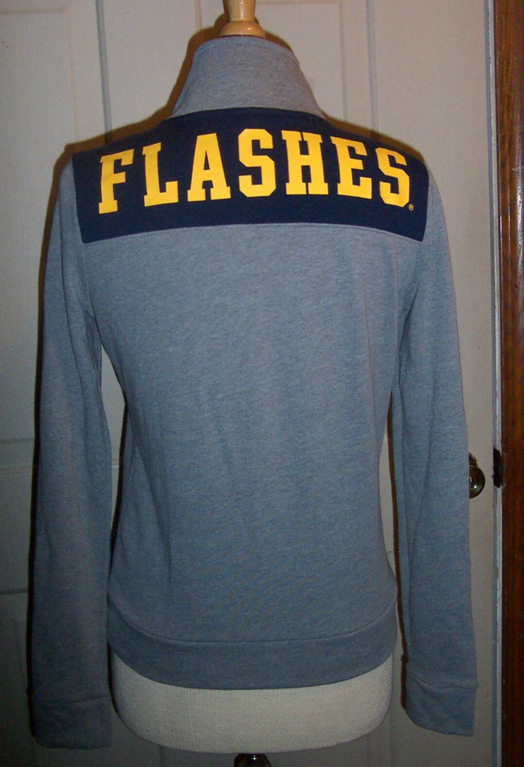 New VICTORIAS SECRET SECRET SECRET PINK KENT STATE KSU FLASHES HALF ZIP FLEECE SWEATSHIRT XS f36326