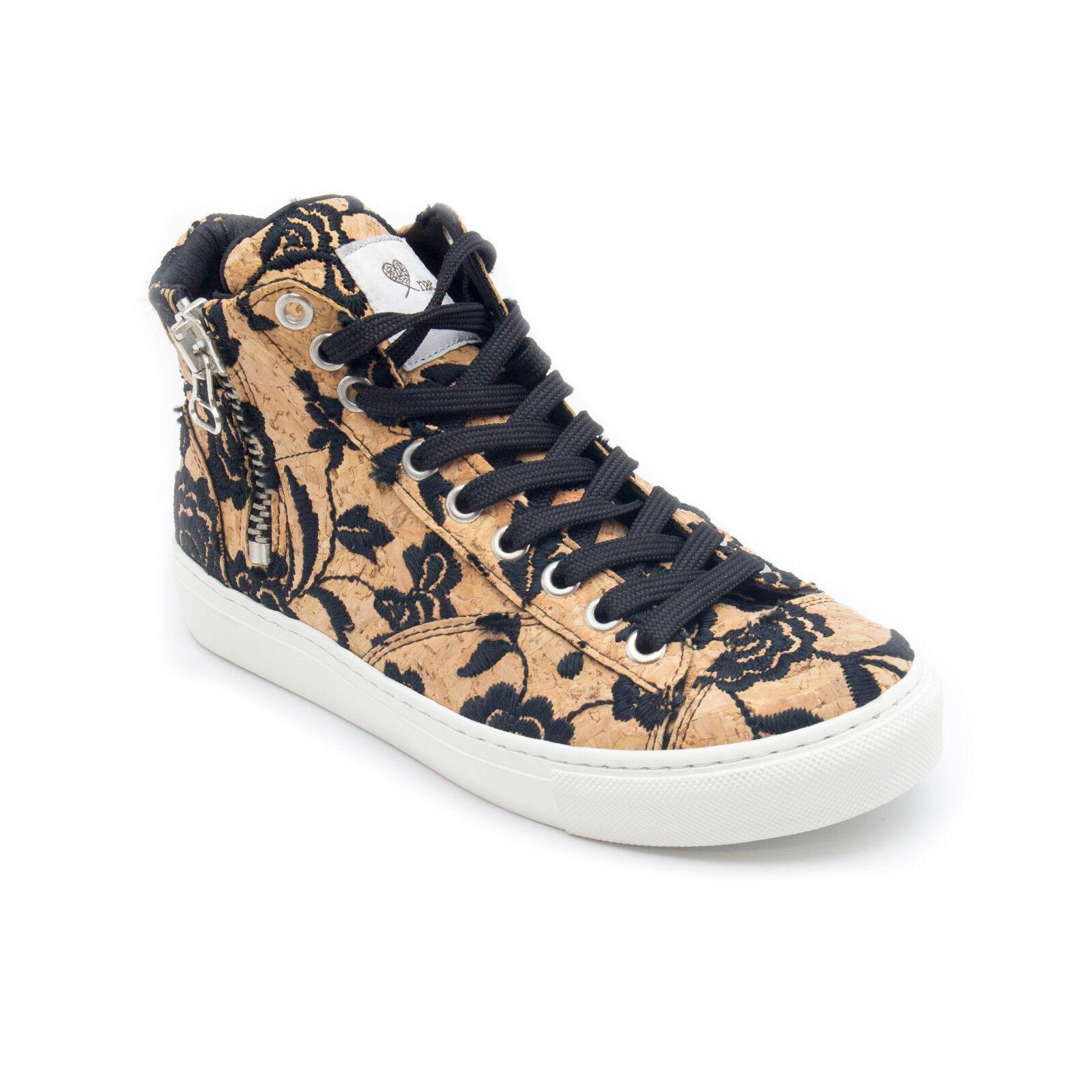 nae - Vegan ankle sneakers laces  zip Chaussures veganas cordones y cremallera