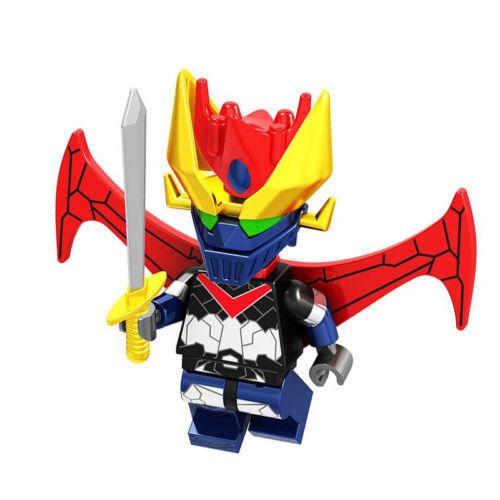 Mazinger Z /& Mazinkaiser Anime Cartoon Lego Moc Minifigure Toys Gift Kids