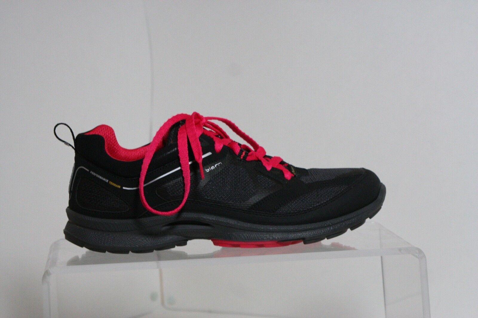 Ecco Biom Natural Motion Gore-tex Sneaker Multi Black Hot Pink Women 39 Athletic