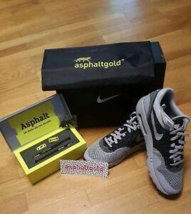 Nike Airmax 1 Ultra Flyknit iD by asphaltgold Sneaker in Gr. 43