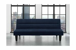 Incredible Details About Dhp Kebo Futon Couch With Microfiber Cover Multiple Colors Blue Full Gmtry Best Dining Table And Chair Ideas Images Gmtryco