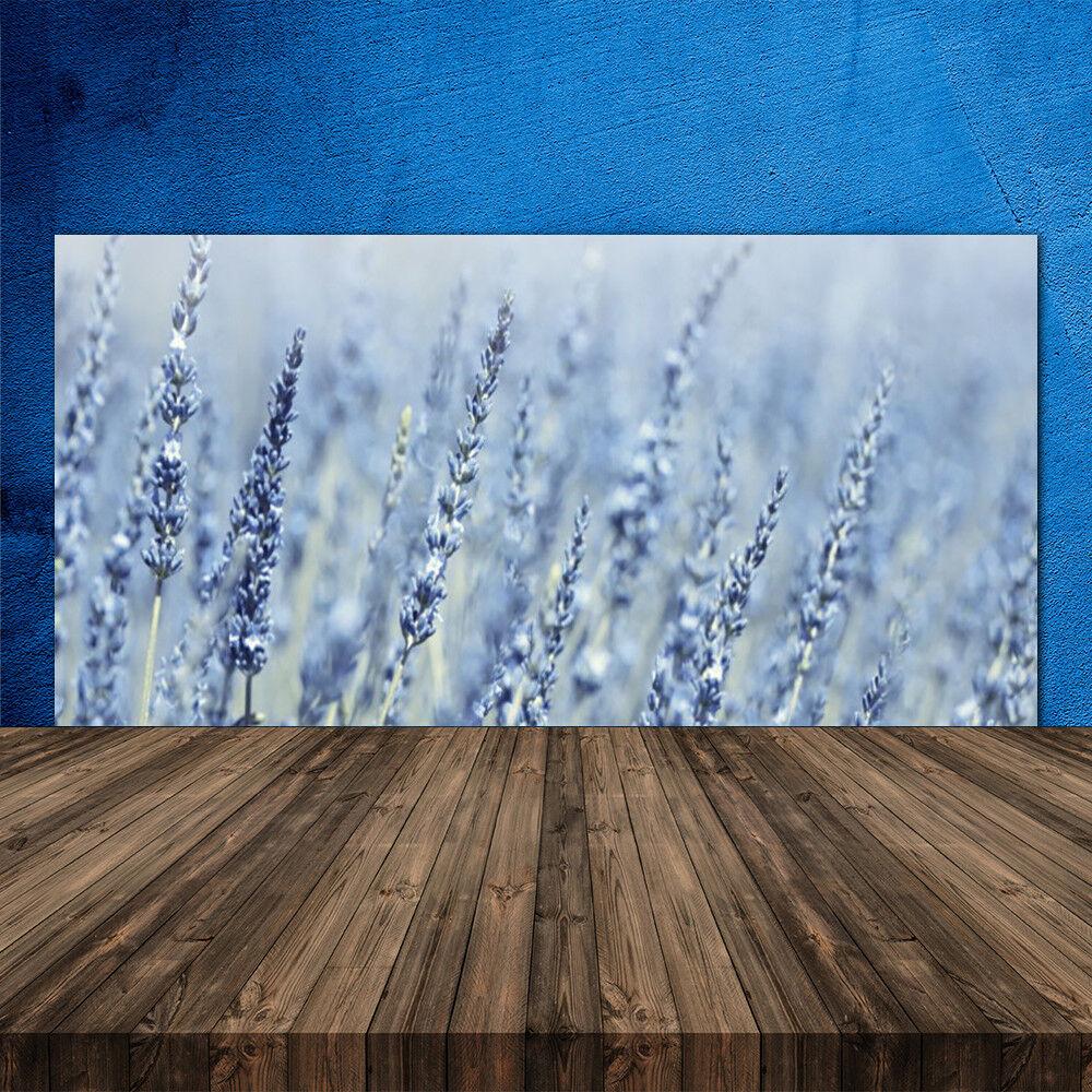 Crédence Crédence Crédence de cuisine en verre Panneau 120x60 Floral Fleurs 656af9