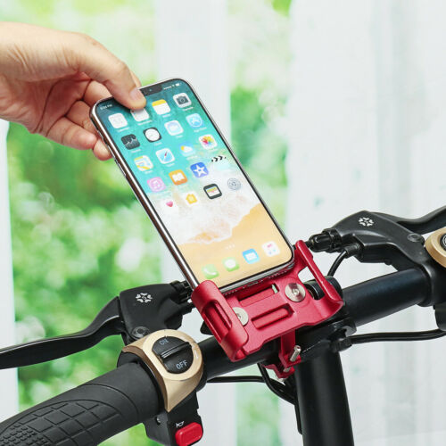 Aluminum Steel Phone Holder Mount For Bicycle MTB Bike Motorcycle Handlebar D