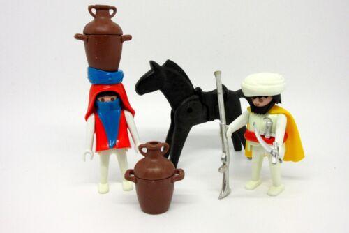 Klicky Rarität 70er Jahre Dschungel ♥Playmobil♥ 3585 Safari Araber Beduinen Set Playmobil