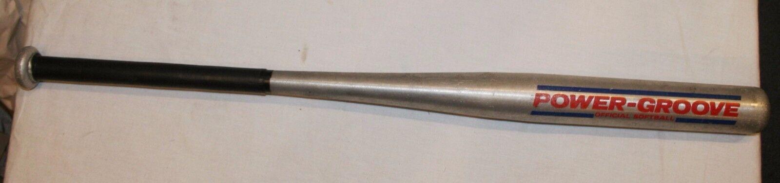 Wilson Power Groove Softball Bat A9622 33  Aluminum Metal