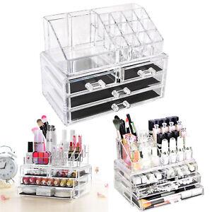 Kosmetik-Organizer-Make-up-Acryl-Aufbewahrung-Beauty-Kosmetikbox-Schubladen-Box