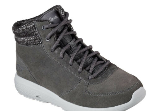 Ville Go 2 North Bottine Cheville Glace On Taille Charbon Femmes Skechers The 6 wq6XI8t