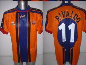 outlet store 471fc 8dd51 Details about Barcelona RIVALDO Kappa Adult XL Argentina Shirt Jersey  Football Soccer Trikot
