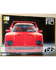 FUJIMI NOVA 1/12 RED FERRARI F40 HYBRID METAL + PLASTIC INJECTION SUPER DETAIL