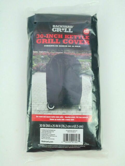 New Backyard Grill Cover 30 Inch Kettle PVC Free