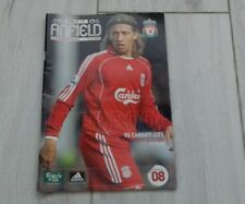 118) Liverpool v Cardiff City carling cup 31-10-2007